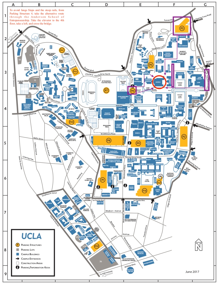 UCLA_Campus_Colored_Map